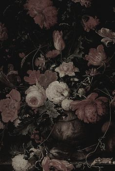 Old Dutch master style floral-glorious!