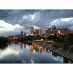 Edmonton. I love Edmonton. I'd move there in a second if I could talk my hubby into it.