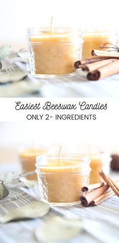 Easiest beeswax candles with only 2 ingredients. Scented with essential oils and made with pure beeswax. Care Skin Condition and Treatment Oil Makeup Homemade Candles, Diy Candles, Homemade Gifts, Candle Decorations, Beeswax Candles, Scented Candles, Essential Oil Candles, Essential Oils, Expensive Candles