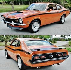 Ford Mustang Eleanor, Ford Granada, Mercury Cars, Truck Paint, Ford Maverick, Old School Cars, Ford Classic Cars, Car Goals, Sweet Cars