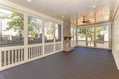 Screened Porch I would like this idea for a kitchen instead