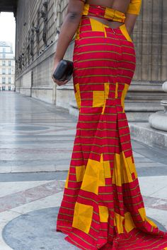 African Bridesmaid Dresses, African Wedding Attire, African Wear Dresses, African Attire, African Fashion Traditional, Ankara Long Gown Styles, Ankara Styles, Kente Dress, Latest African Fashion Dresses