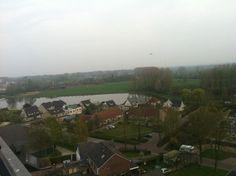 We beklimmen de toren van #Giesbeek #uitje #mooideliemers #Zevenaar. Woensdag 2 april 2014. Via twitter @Kiwanis_Liemers.