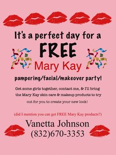 It's always a perfect time for a Mary Kay party!