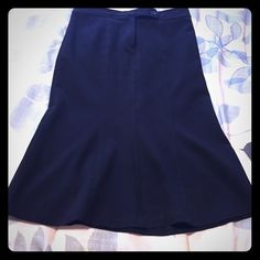 Skirt Black skirt with a little flare in the bottom Forever 21 Skirts A-Line or Full