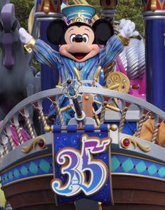 ドリーミング・アップ!35周年バージョングランドフィナーレ! | 吉田さんファミリーオフィシャルブログ「吉田さんちのディズニー日記」Powered by Ameba Walt Disney, Mickey Mouse, Disney Characters, Baby Mouse