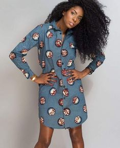 b608f5f6171ba5 30 Best African print shirt images in 2019 | African prints, African ...