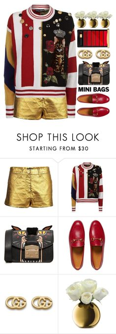 """M I N I"" by amethyst0818 ❤ liked on Polyvore featuring Chanel, Dolce&Gabbana, Furla, Gucci, LSA International and L'Oréal Paris"