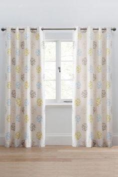 Buy Retro Stem Eyelet Curtains from the Next UK online shop
