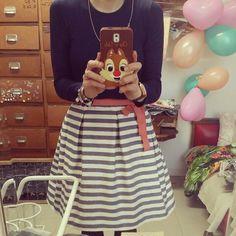 Lovely skirt stripes