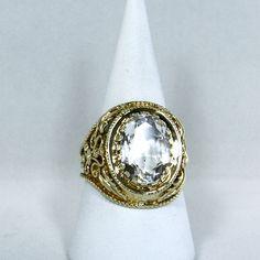 Vintage #rockcrystal ring
