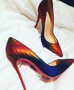 christianlouboutin on damenschuhe christianlouboutin on ChristianLouboutin christianlouboutin on Christian Louboutin Colorful Ombre Pumps christianlouboutin on ChristianLouboutin christianlouboutin on Christian Louboutin Colorful Ombre Pumps Dream Shoes, Crazy Shoes, Me Too Shoes, Pretty Shoes, Beautiful Shoes, Gorgeous Heels, Zapatos Shoes, Shoes Heels, Heeled Sandals