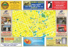 Sebos de Curitiba: SEBOS & LIVRARIAS DE CURITIBA 13ª EDIÇÃO - MAPA