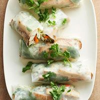 Spiced Tofu Spring Rolls Recipe