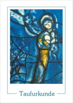 #Taufurkunde - Motiv Marc #Chagall #logobuchversand