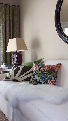 Pillow Fabric: Chiang Mai Dragon in Aquamarine, 173270. http://www.fschumacher.com/search/ProductDetail.aspx?sku=173270 #Schumacher