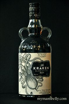 the kraken rum, kraken rum, spiced rum recipes, kraken, rum