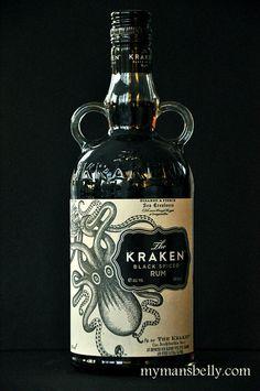 the kraken rum, kraken rum, spiced rum recipes, kraken, rum