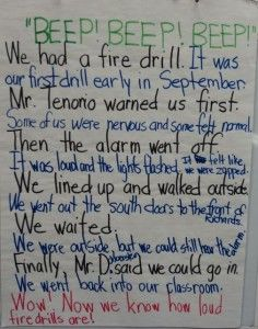 005 Personal Narrative Example 5th grade Teaching Personal