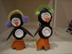 3d knutsel: Ramblings of a Crazy Woman: Penguin Craft
