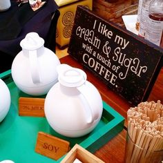 Love this little DIY coffee bar at Firesky Resort in Scottsdale. The Slow Roasted Italian, Chalk It Up, Party Time, Catering, Crafty, Photo And Video, Coffee Bars, Summer, Crib