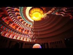 Dome projection installation 『SPACE ECHO』 by COSMIC LAB - YouTube