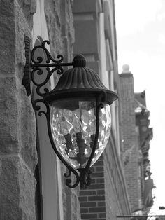 Street lamp in Deadwood SD