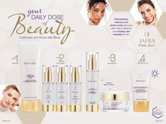 Customize your Royal Jelly Ritual! jafra.com/nicholesowle Facial Care, Lip Care, Body Care, Mens Facial, Royal Jelly, Beauty Consultant, Nail Technician, Bath And Body, The Balm