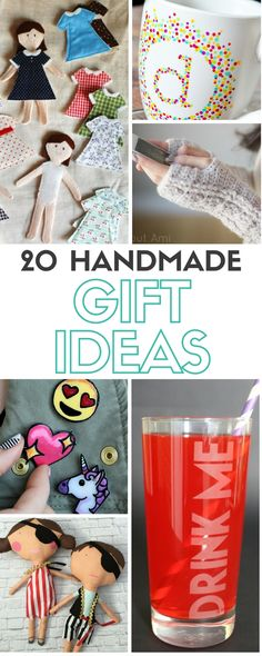 These Homemade Gift Ideas are perfect for Christmas, Birthdays Anniversaries and more! Easy DIY craft tutorials that will get you gift giving in no time!
