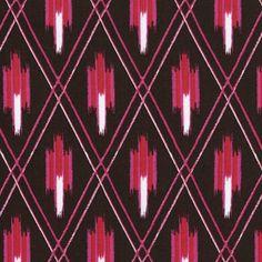 Dear Stella House Designer - Kallianthi - Criss Cross Ikat in Brown  #ikat #prints #fabrics #textiles #interior_design [www.itma-showtime.com]