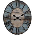 Oval Paris Clock