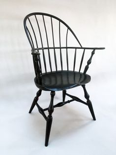 Windsor Sackback Armchair By George Sawyer, A Member Of The Guild Of  Vermont Furniture Makers