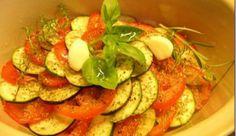 Legumes com alecrim. Receitas vegetarianas variadas.