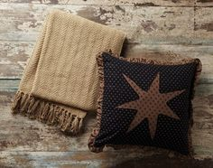 Accent your country decor with our Nantucket Woven Throw while also using it practically to keep warm on a chilly day. https://www.primitivestarquiltshop.com/search?type=product&q=nantucket+woven+throw #primitivecountrywoventhrows