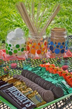 Smores Party Ideas!... I have to do this, this summer!