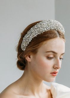 Bridal Headpieces, Bridal Hair, Wedding Hats, Wedding Dresses, Angel Wings Costume, Pearl Headband, Rosette Headband, Crystal Headband, Wedding Hair Inspiration