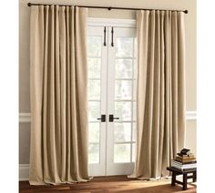 1000 images about sliding glass door decor on pinterest window panels sliding glass door and - Sliding back door curtains ...