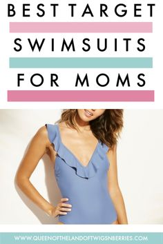 The Best Target Swimsuits for Moms - Queen of the Land of Twigs 'N Berries Only Fashion, Womens Fashion, Fashion Tips, Club Fashion, Fashion Group, Best Swimsuits For Moms, One Piece Suit, Classic Outfits, Bikini Photos