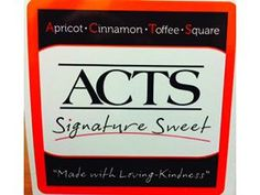 Play off an acronym - Our 23 communities were each asked to develop a recipe item using our acronym, ACTS, in the name. A panel of eight staff members tried all the different entries and chose a winner: Apricot Cinnamon Toffee Squares. These are now provided at our marketing luncheons in a little box with our logo. The residents love these.