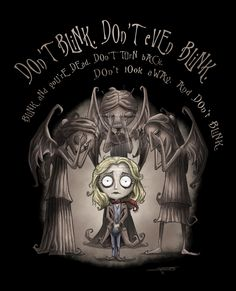 Don't Blink. Don't Even Blink. by angelsaquero.deviantart.com on @deviantART