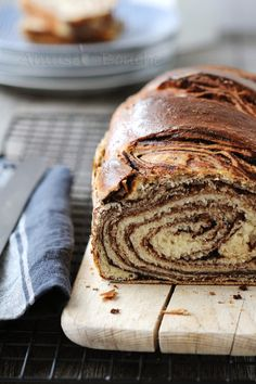 Pain Brioché Marbré #recipe