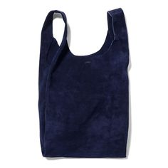 Leather BAGGU in Midnight Suede