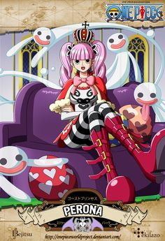 One Piece - Perona by OnePieceWorldProject on DeviantArt