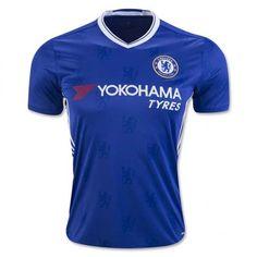 Chelsea 16-17 Cheap Home Blue Soccer Jersey [E242]