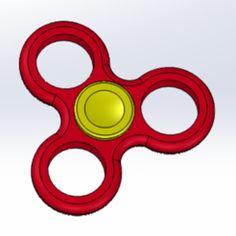 Hand Spinner - Hand Spinner basique mais efficace  Créé par un élève de 1er STI2D ITEC