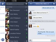 Facebook Messenger 2.0 Released, New Design And iPhone 5 Support