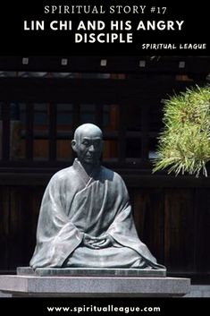 I have heard about Lin Chi, a Zen master. As he was sitting one day in his hut someone came to see him. The man who came was angry. Disciple Me, Spiritual Stories, Becoming A Monk, Zen Master, Spiritual Teachers, How To Get Warm, Feeling Happy, Forgiveness, The Man