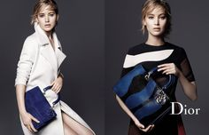 Jennifer Lawrence shines once again for Dior as she lends her allure to the latest leather goods campaign featuring the 'Be Dior' and 'Diorissimo' bags, two icons which this season are a riot of animal-inspired motifs and bold color.