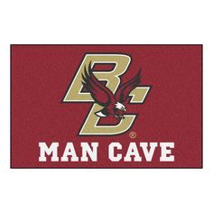 Boston College Eagles NCAA Man Cave Starter Floor Mat (20in x 30in)