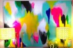 Fire Up - Clare O'donoghue Art bedroom 1